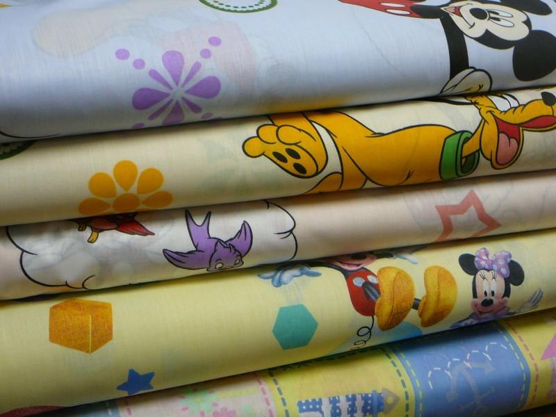 Detsky metrovy textil