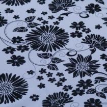 Černo-bílé květy